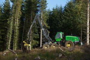 Forest Machinery at work